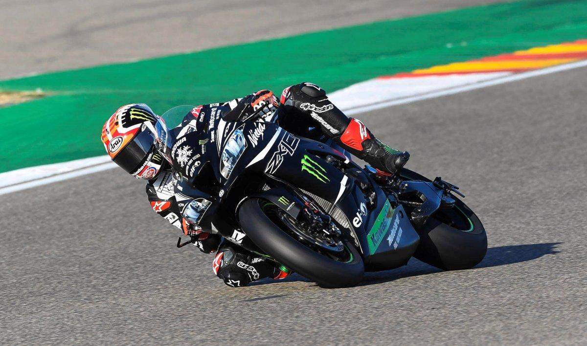 SBK. Rea, est le plus rapide à Jerez de test