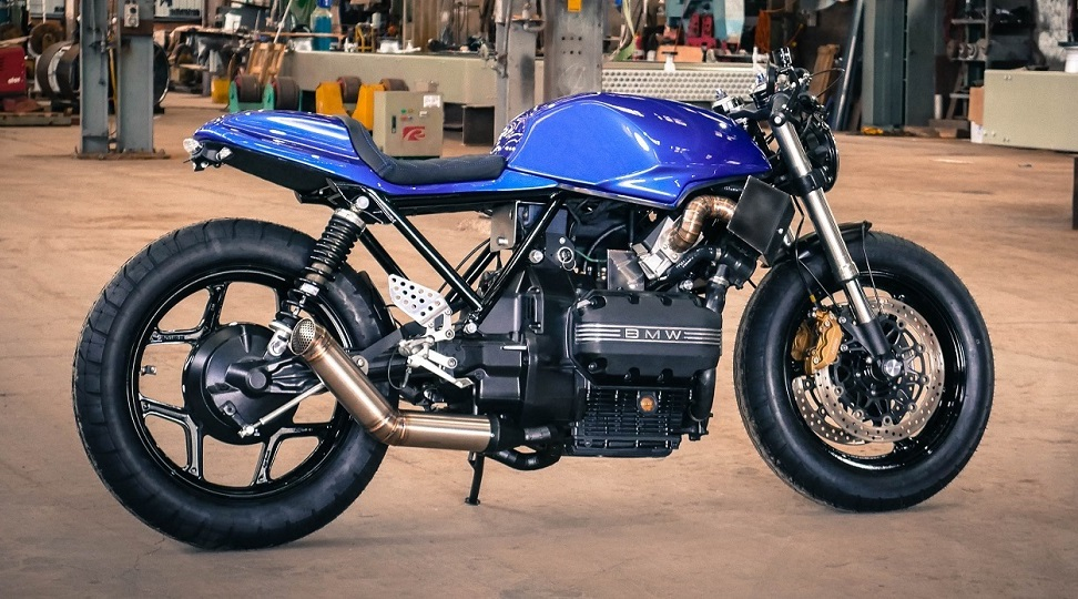 BMW K 75 C par JAX Garage