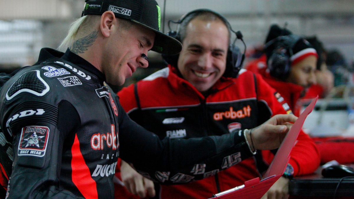 """Superbike, Redding conduit le chef d'équipage: """"Jean est important pour moi"""""""