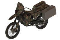 Silencieux Hawk: toutes roues motrices et moteur hybride pour la moto de l'armée AMÉRICAINE