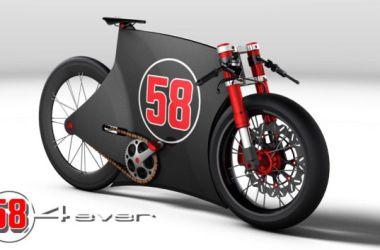 SIC-4Ever Marco Simoncelli Hommage à Vélo Concept par Paolo Tesio