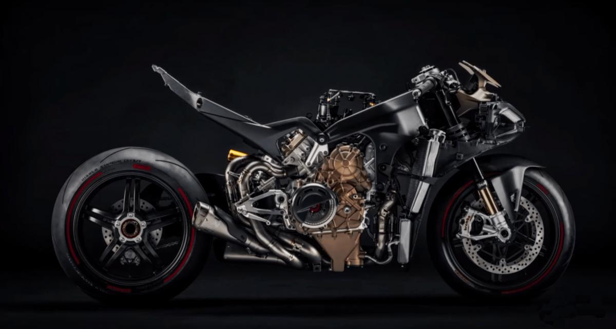 Ducati Panigale V4 Superleggera dévoilé: voici des photos et de la vidéo