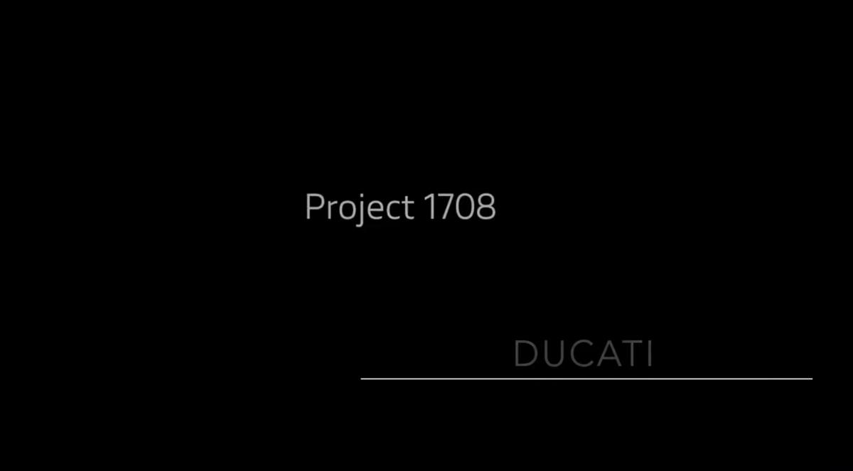 Ducati Projet 1708: la vidéo et l'onglet de la nouvelle Panigale V4 Superleggera