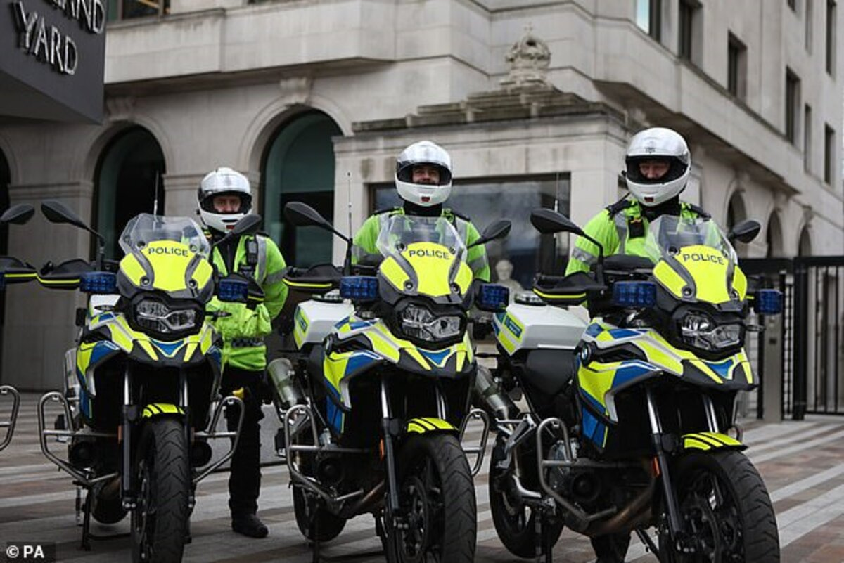 Londres: la police dota de sept BMW F750GS pour lutter contre le vol de motos et scooters