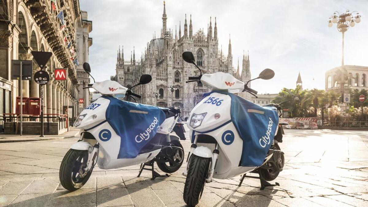 Coronavirus. Milan: le scooter de partage afin d'éviter les transports publics