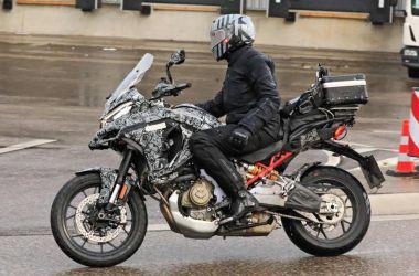 Ducati Multistrada V4: le nouveau spy photos