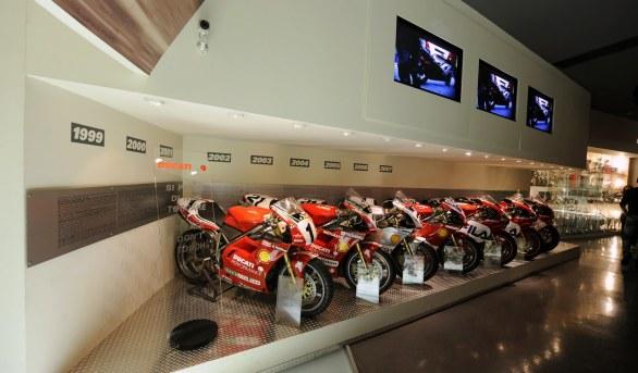 Coronavirus, voici comment visiter le Musée Ducati à partir de la maison