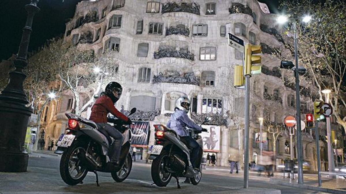 Aussi en Espagne, les ventes de moto automne: en mars, la marque de -42,5%