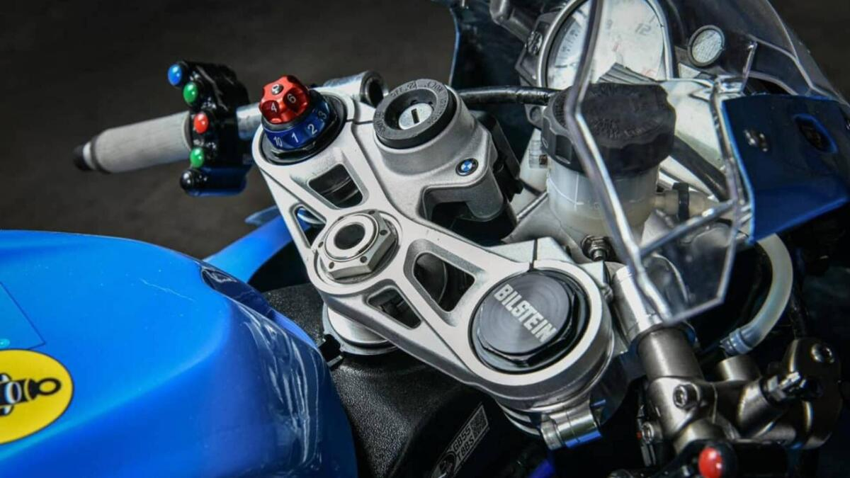Bilstein est de retour à la moto avec un kit BMW S1000RR
