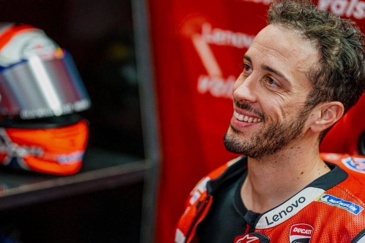 """MotoGP. Andrea Dovizioso: """"Courageux, intrépide"""""""