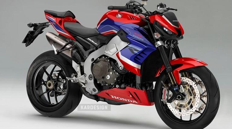 Honda CB1000RR Concept par Kar Design
