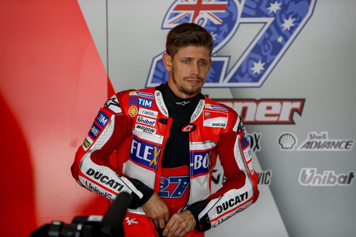MotoGP. Stoner: c'est, il a dû arrêter avant