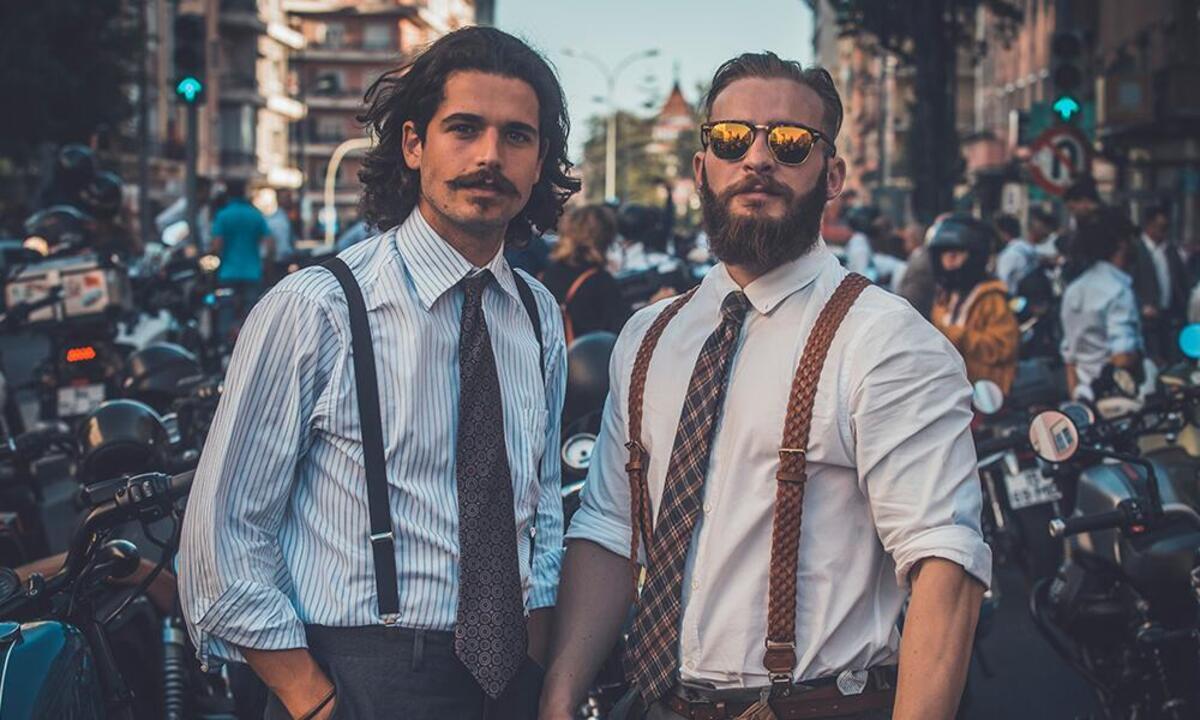 Le Distinguished Gentleman's Ride et Movember ensemble pour les motards