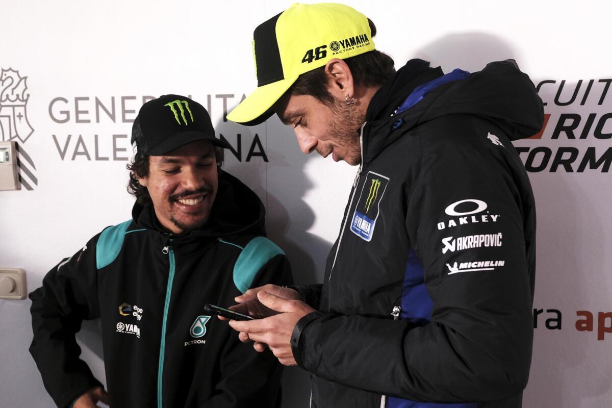 MotoGP. Valentino Rossi Morbidelli: Franco, comme dans Petronas?