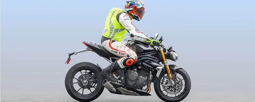 La Triumph Speed Triple 2021: voici le spy photos