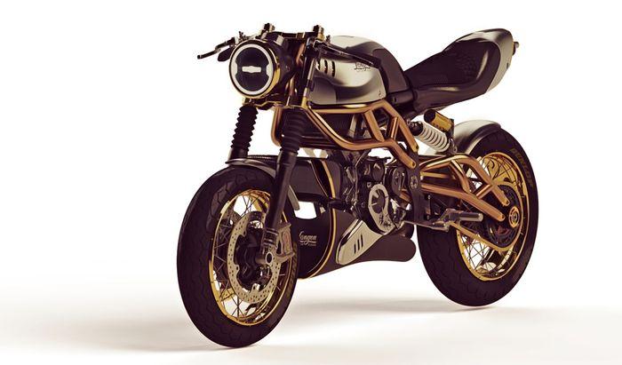 Langen Motos, et de la volonté de 2 fois: ici, c'est le roadster de 250 cc et 80 ch de puissance