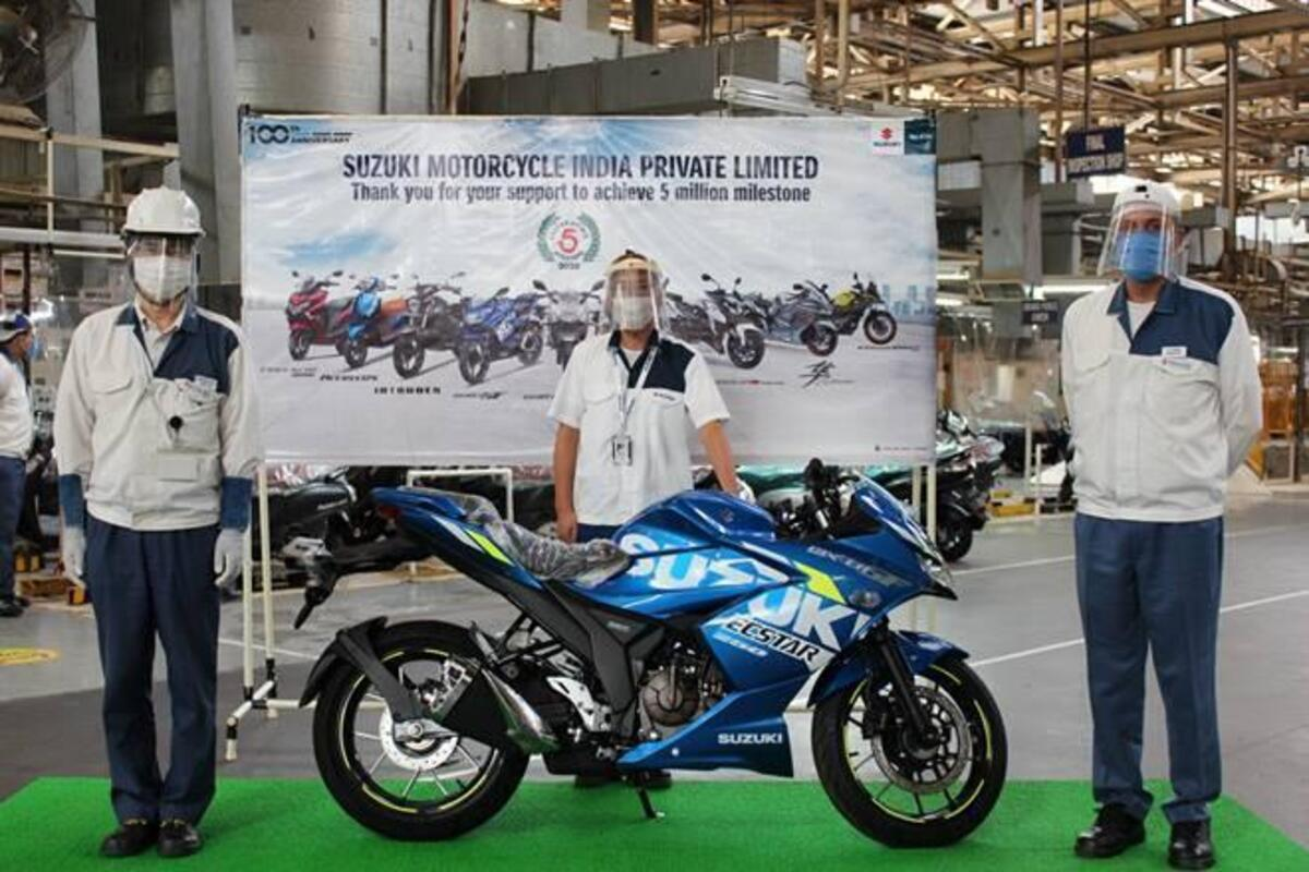 Suzuki. 5 millions de motos en Inde