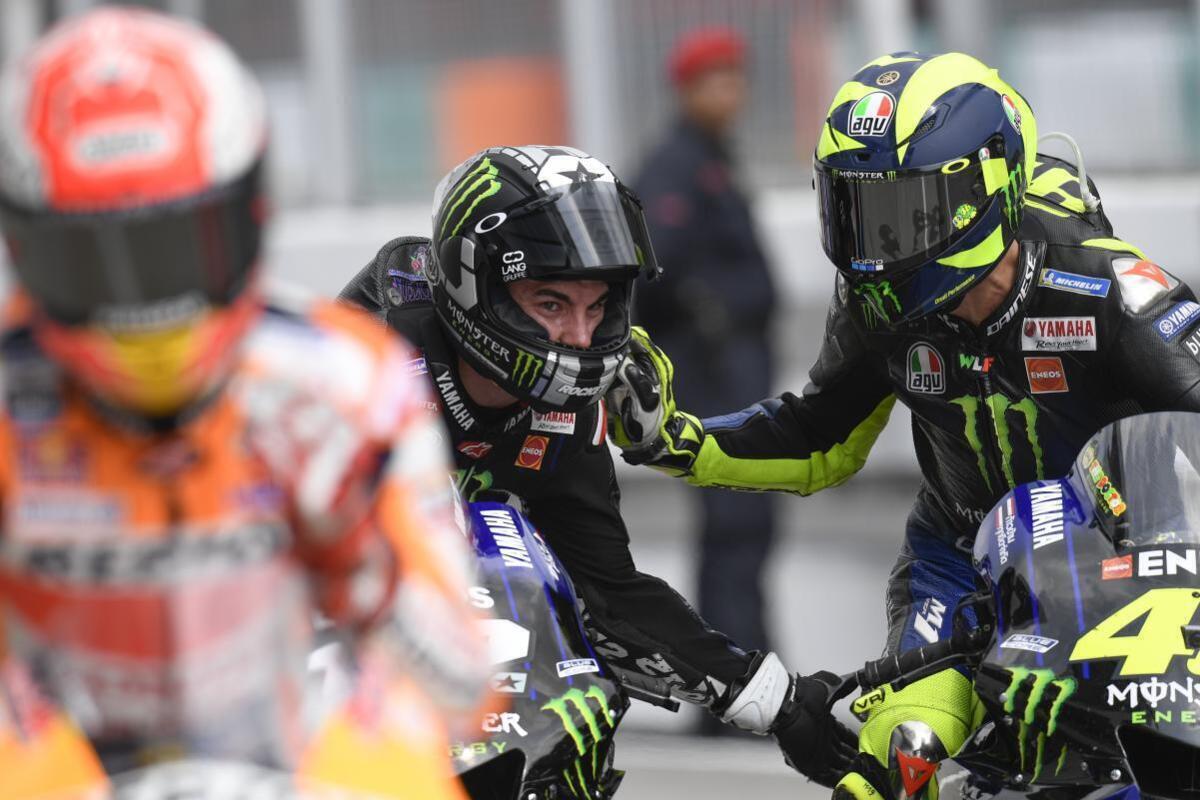 MotoGP. Valentino Rossi et Maverick Viñales de Jerez: Enfin nous y sommes, c'est un grand plaisir de revenir sur le M1!