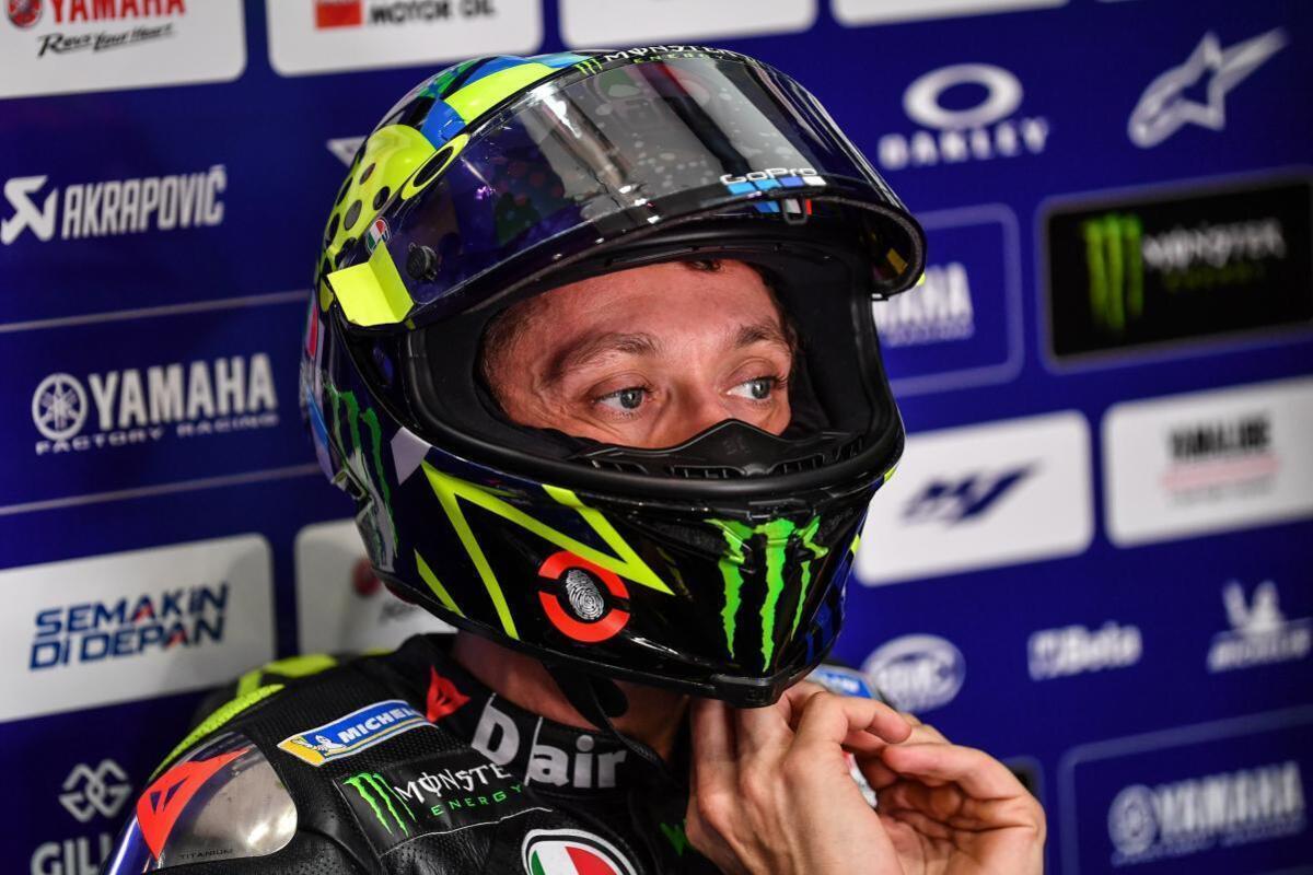 Tests MotoGP. En rouge: Les 99% de fonctionner, et même en 2021