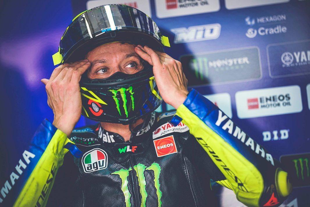 """Valentino Rossi à 99% sur piste l'année prochaine: """"il n'est Pas vrai que je l'ai déjà signé"""""""