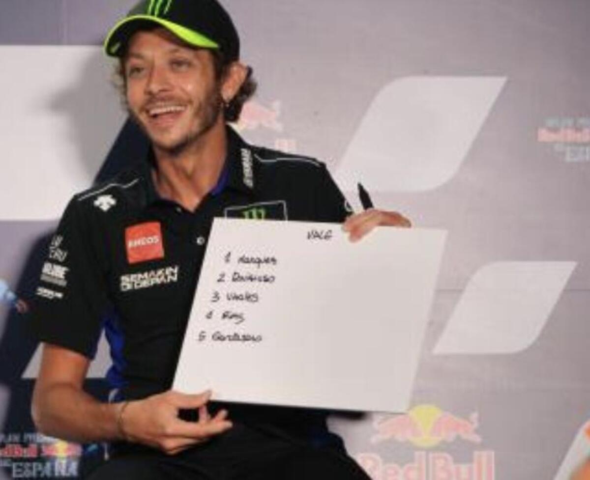 MotoGP 2020 à Jerez. Les pilotes jouent dans la fantamondiale: voici leurs prédictions