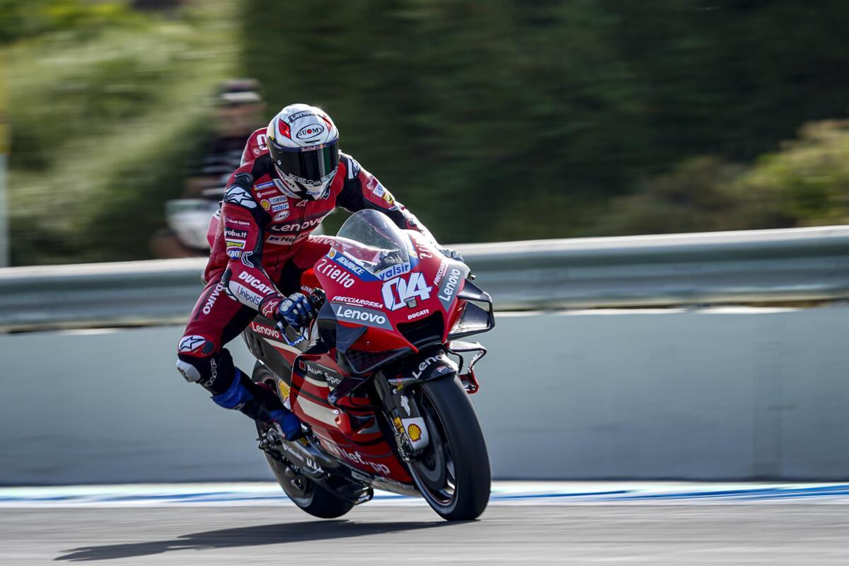 MotoGP 2020. Dovizioso: Jamais eu de problèmes de motivation