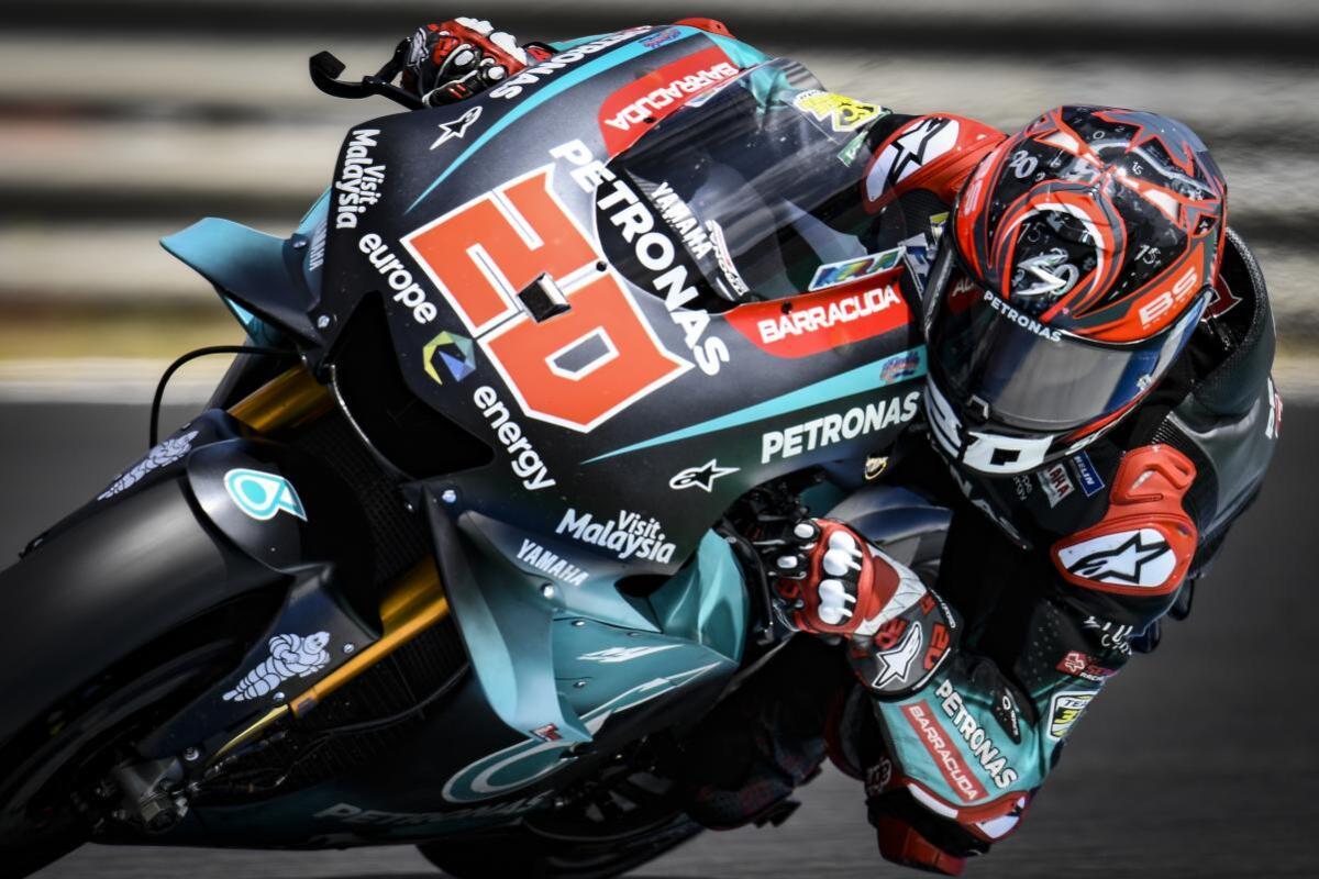 MotoGP à Jerez, Quartararo: je dois m'adapter rapidement à la M1 2020