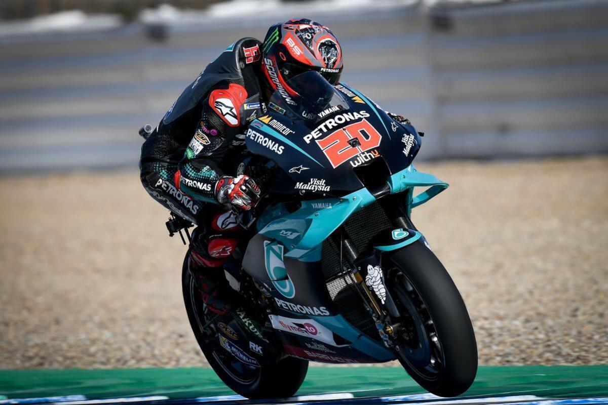 MotoGP 2020. Dans Quartararo, le 3ÈME du GP d'Espagne à Jerez