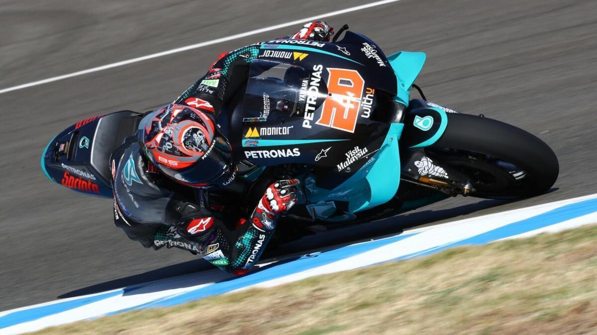 MotoGP 2020. Quartararo en pole position du GP d'Espagne à Jerez