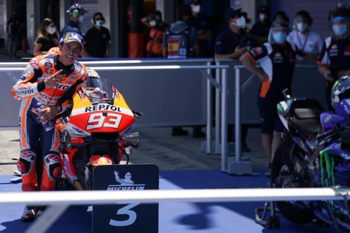 MotoGP 2020. Marquez le WUP du GP d'Espagne à Jerez