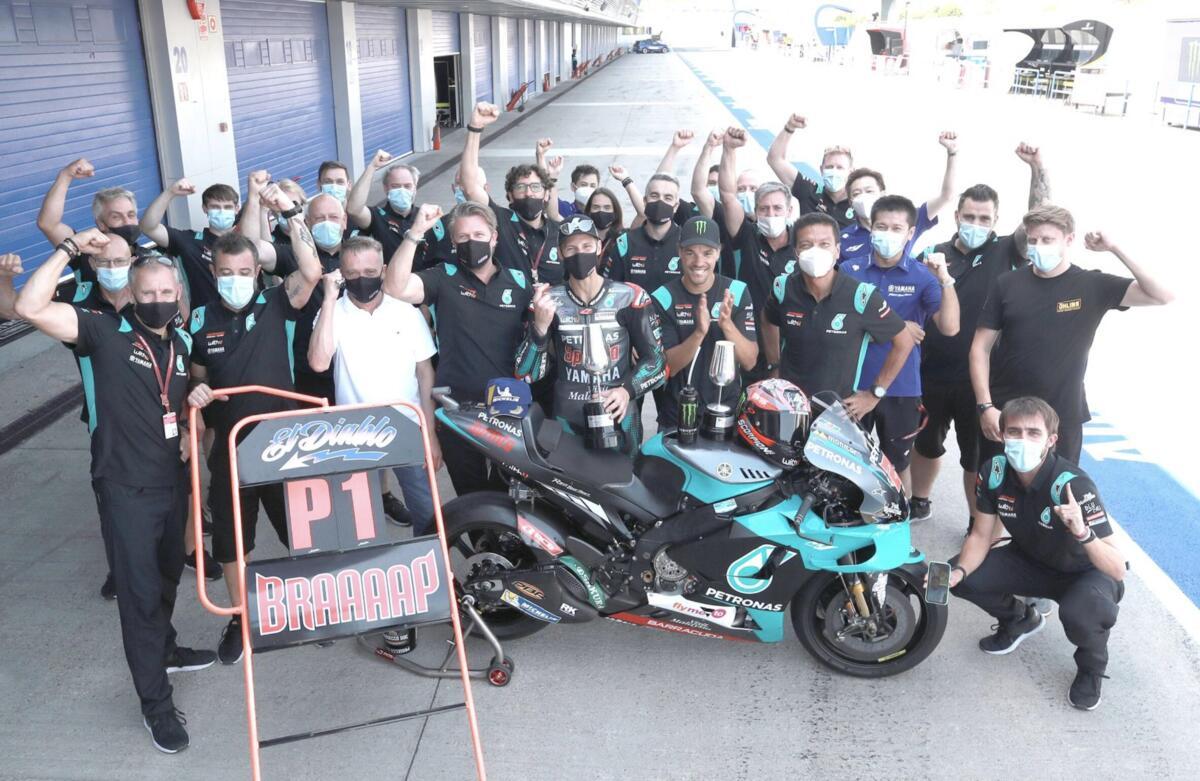 MotoGP à Jerez. Fabio Quartarararo: Le plus beau jour de ma vie