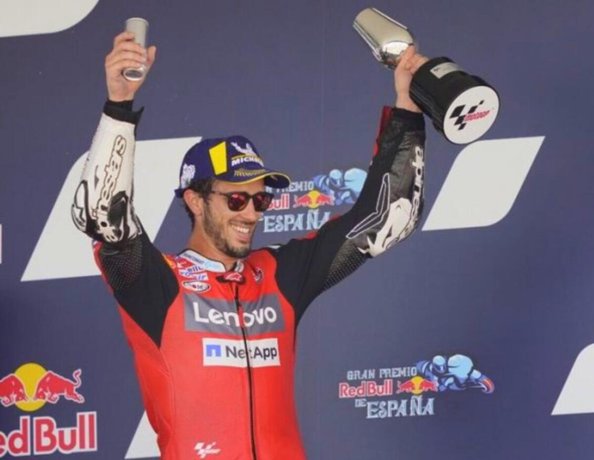 MotoGP à Jerez. Andrea Dovizioso: podium de la tête et de la détermination