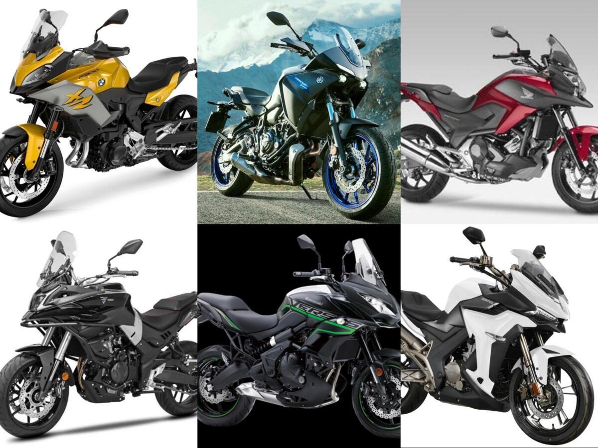 Vélo, conseils pour l'achat: 6 crossover driveable avec un permis A2!