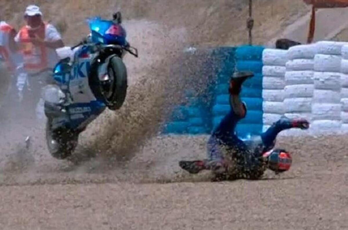 Crash à Jerez, Alex Rin court le risque de la chirurgie