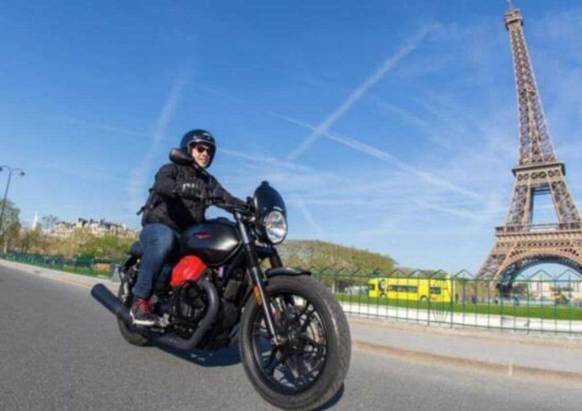 En France, le vélo est dans une forte reprise. Yamaha MT-07 est le plus vendu