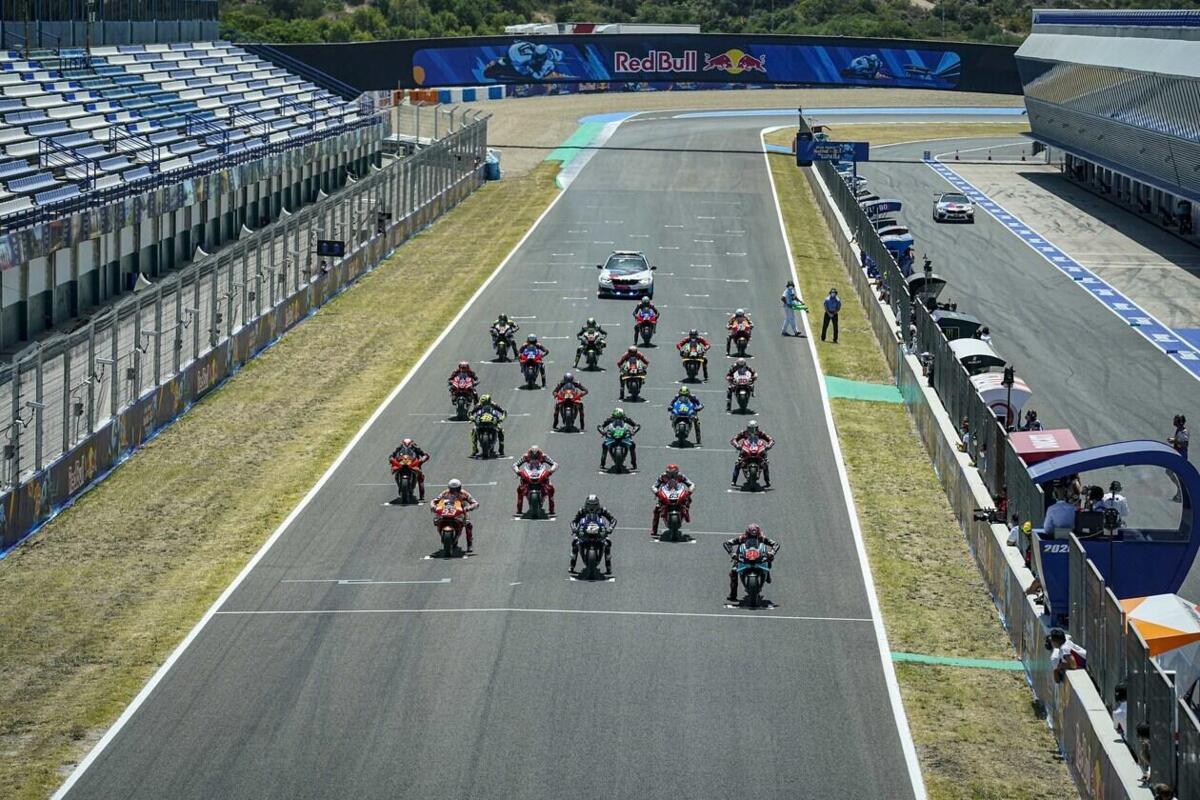 Orari TV MotoGP 2020 au GP de Jerez de l'Andalousie et sur la tv, TV8