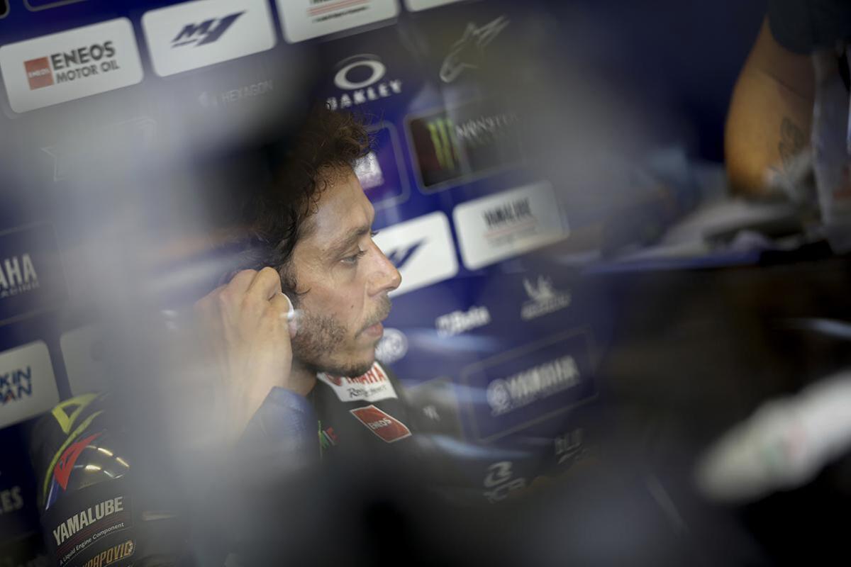 """MotoGP 2020. Rossi: """"À Jerez, j'ai toujours souffert dans les dernières années,"""""""