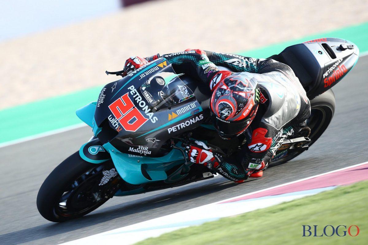 Le MotoGP, le GP de l'Andalousie: pôle de Quartararo, selon Vinales. La Quatrième Rouge