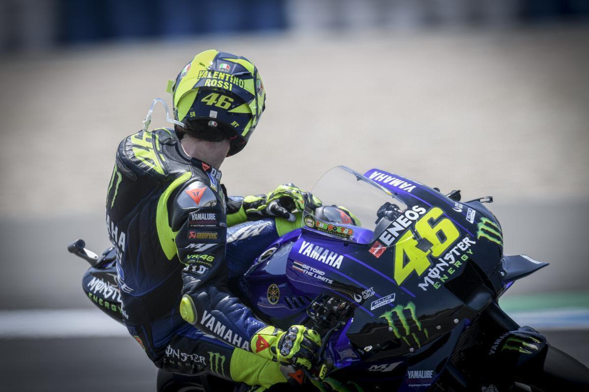 MotoGP 2020. Rouge: je ne suis Pas sur le podium