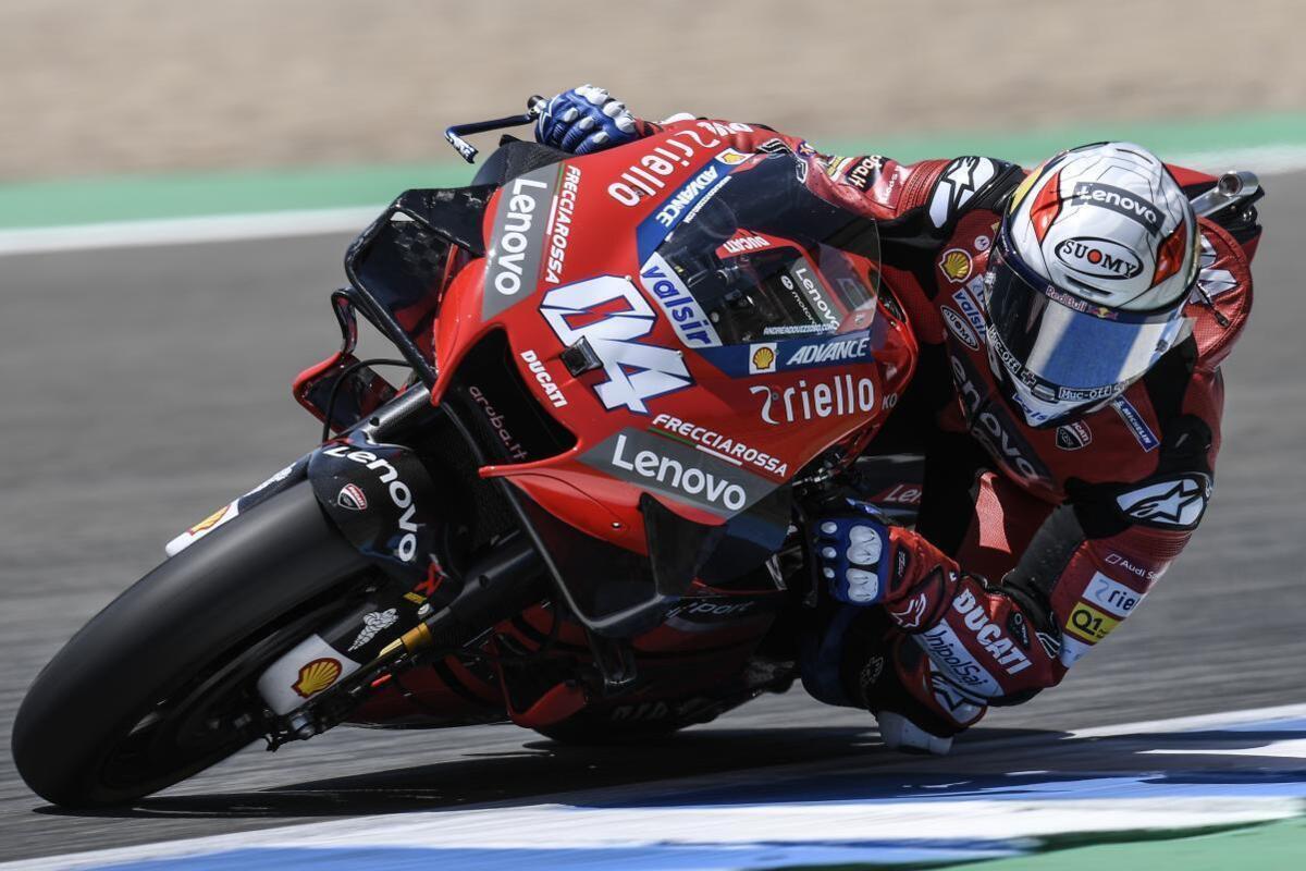 """MotoGP 2020. Dovizioso: """"Bagnaia et Miller font la différence avec le nouveau caoutchouc"""""""
