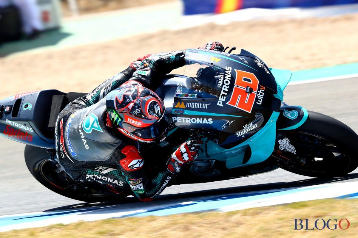 MotoGP Andalousie: Quartaro gagne toujours sur Viñales, Rossi sur le podium