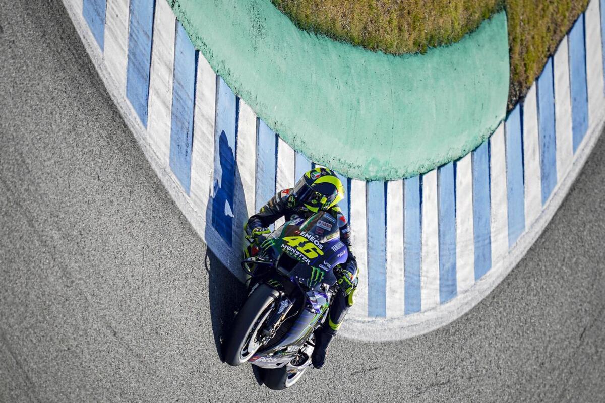 """MotoGP 2020. Rossi: """"je Suis vieux, mais la Yamaha je dois l'écouter"""""""