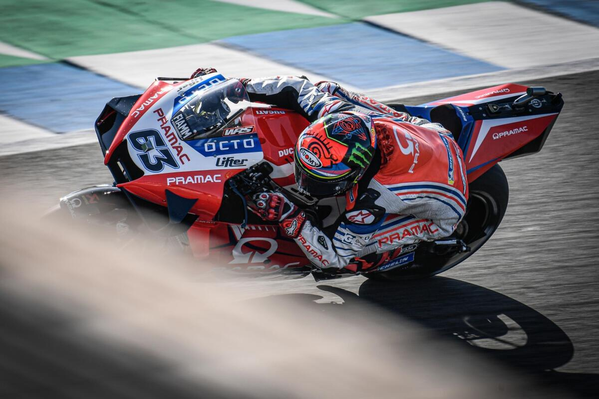 MotoGP 2020. Bagnaia: vous ne pouvez Pas être en colère après une course comme celle-là