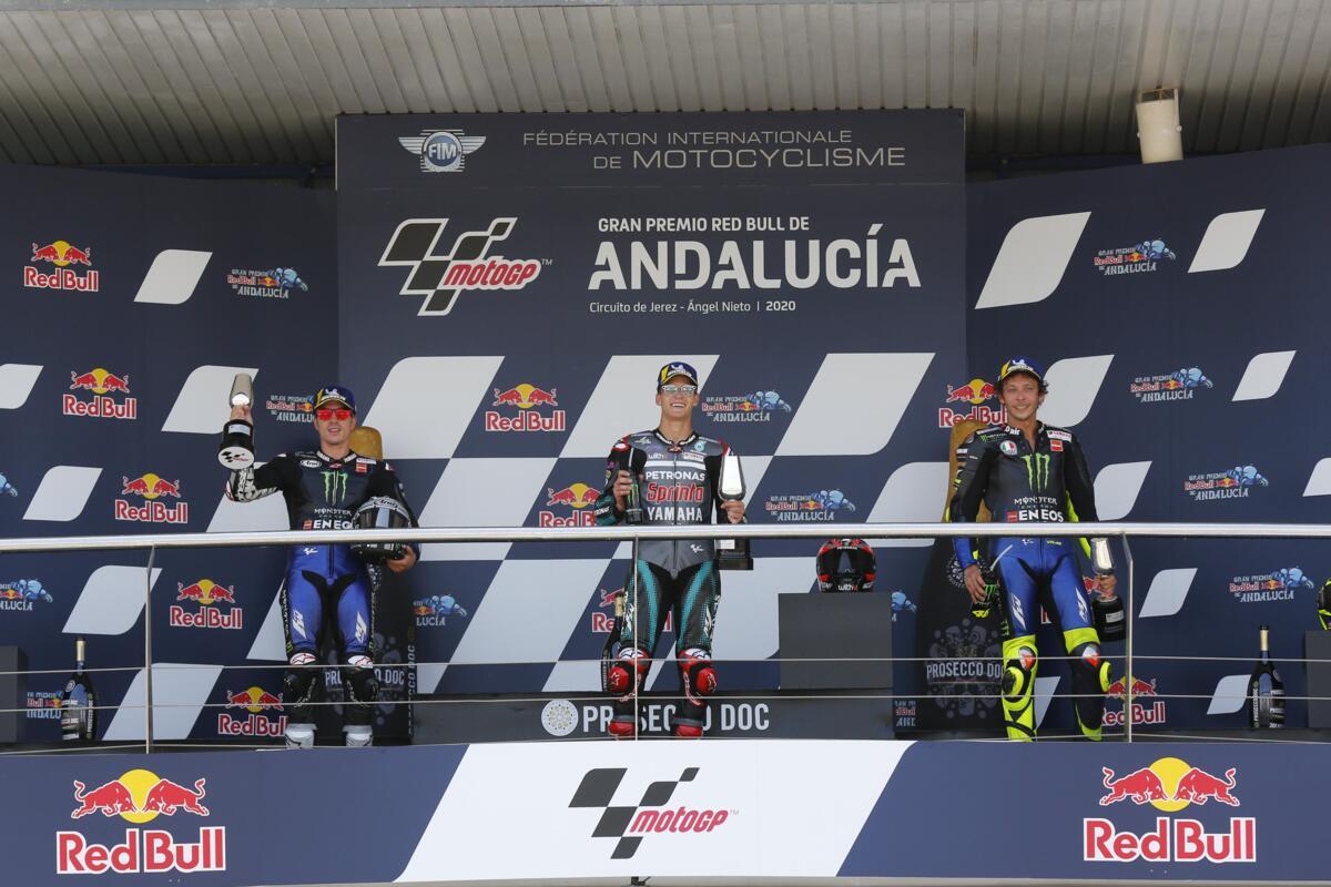 MotoGP 2020. Des idées, des commentaires et des questions après le GP de l'Andalousie à Jerez