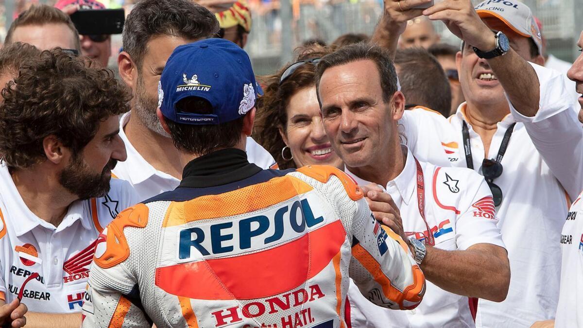 "MotoGP. Alberto Puig: ""la semaine prochaine, il est hors de Brno, Marc"""