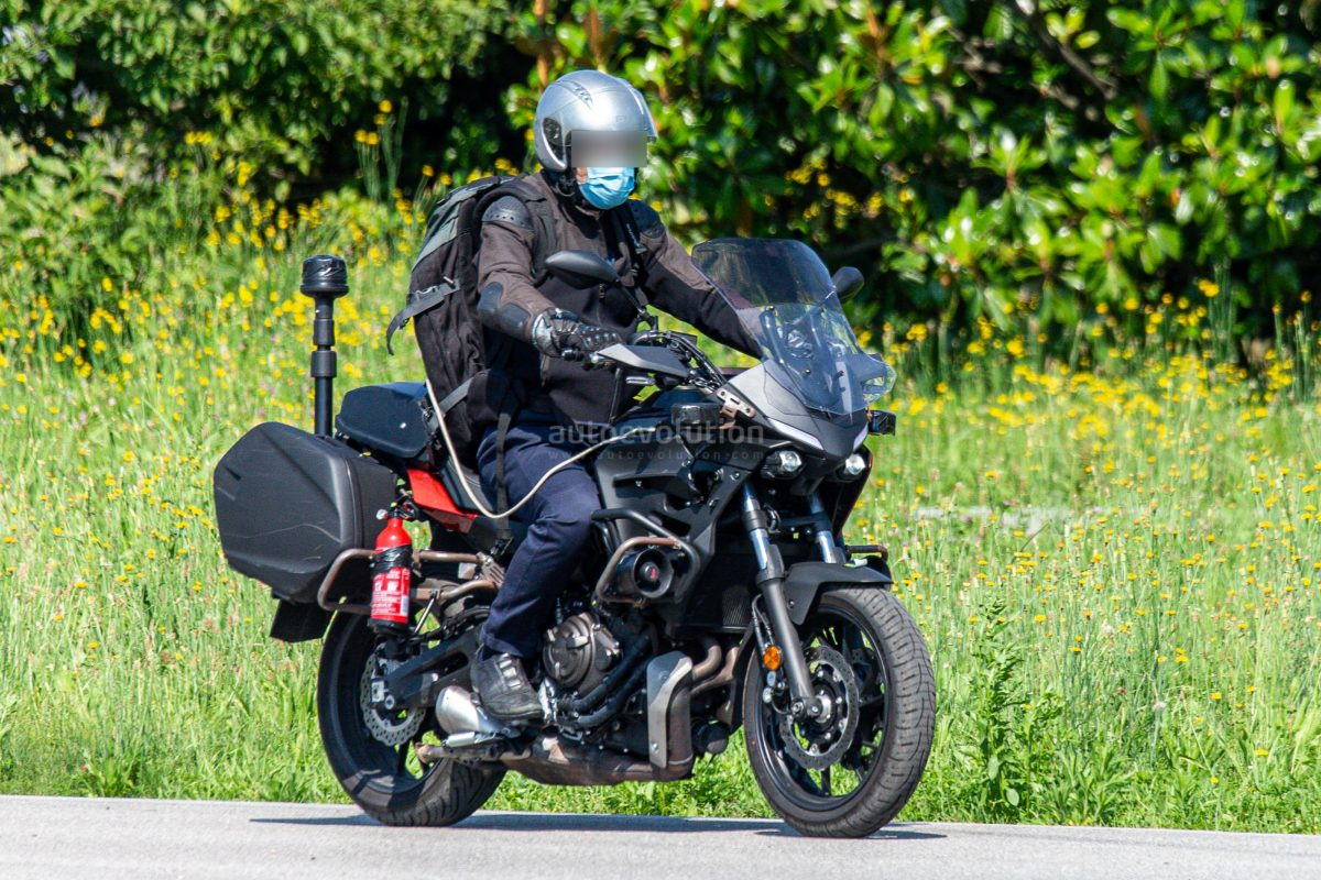 Yamaha Traceur 700 GT: spy photos de l'raccords