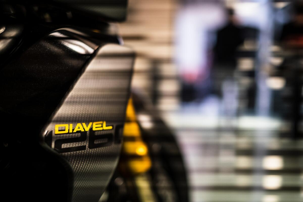 Ducati Diavel Lamborghini et Multistrada Enduro Grand Tour. En arrivant en 2021