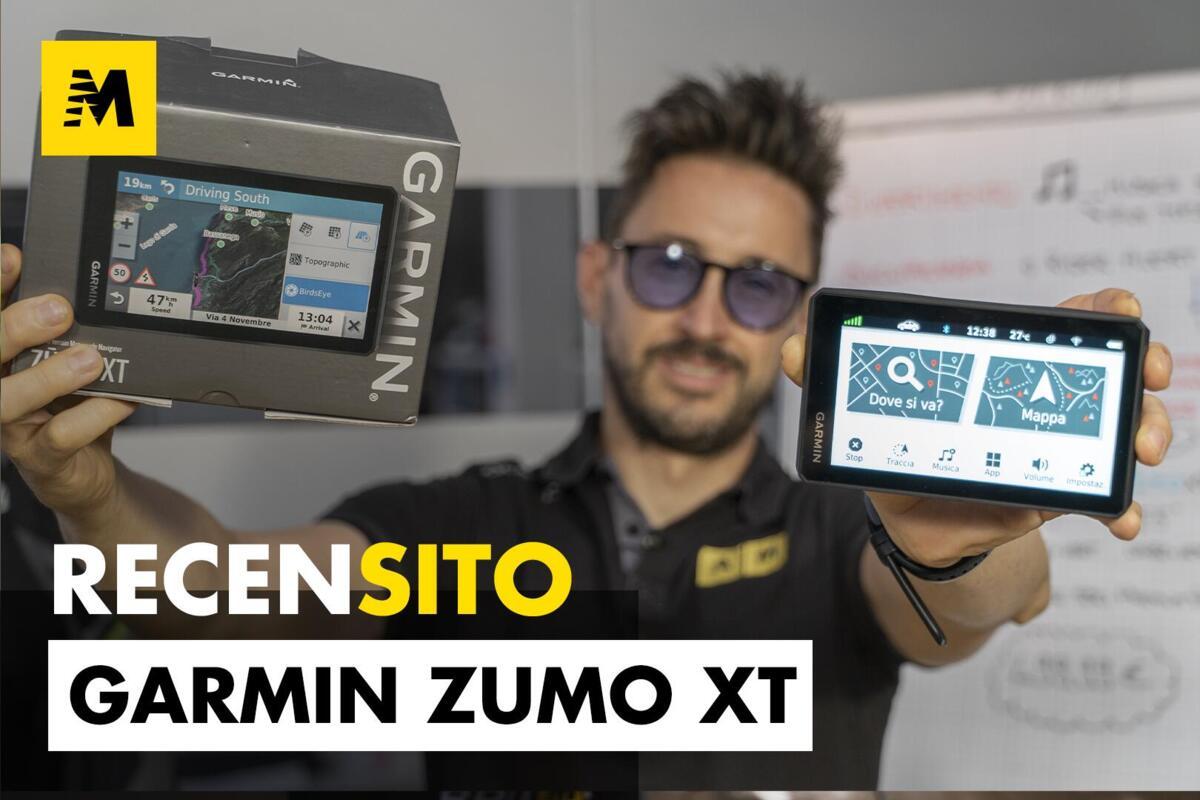 Garmin Zümo XT sur Tous les Terrains. Examen de navigator le vélo sur route et hors route