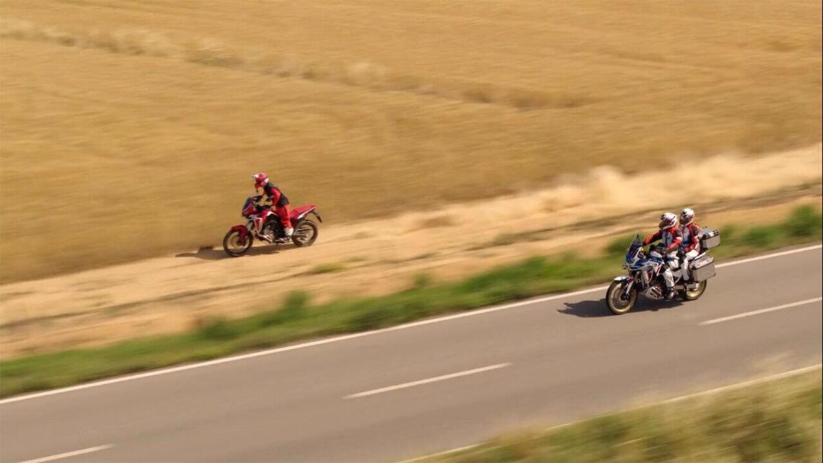 Honda Africa Twin 1100: Marco Aurelio Fontana est le protagoniste de la nouvelle vidéo