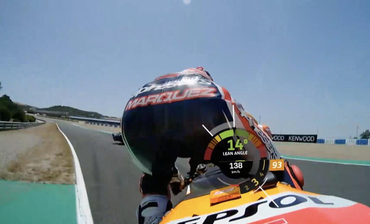 MotoGP Jerez, la chute de Marquez et les souhaits des rivaux